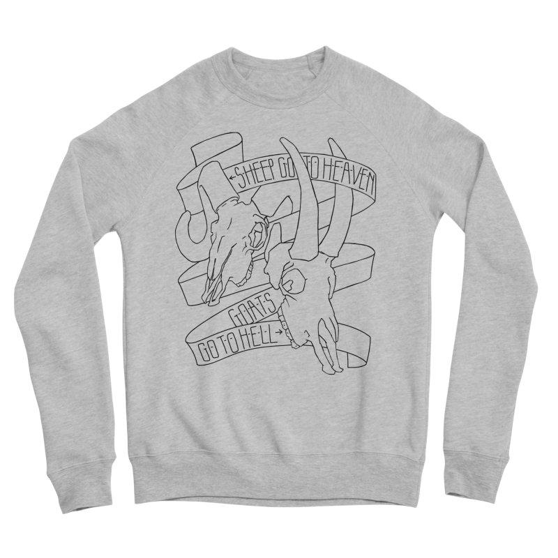 Sheep Go To Heaven Men's Sponge Fleece Sweatshirt by Marie Angoulvant's Shop