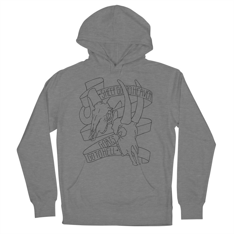 Sheep Go To Heaven Men's French Terry Pullover Hoody by Marie Angoulvant's Shop