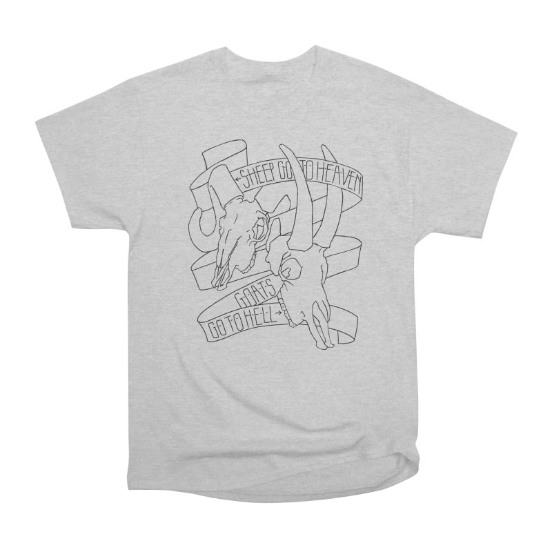Sheep Go To Heaven Men's Heavyweight T-Shirt by Marie Angoulvant's Shop