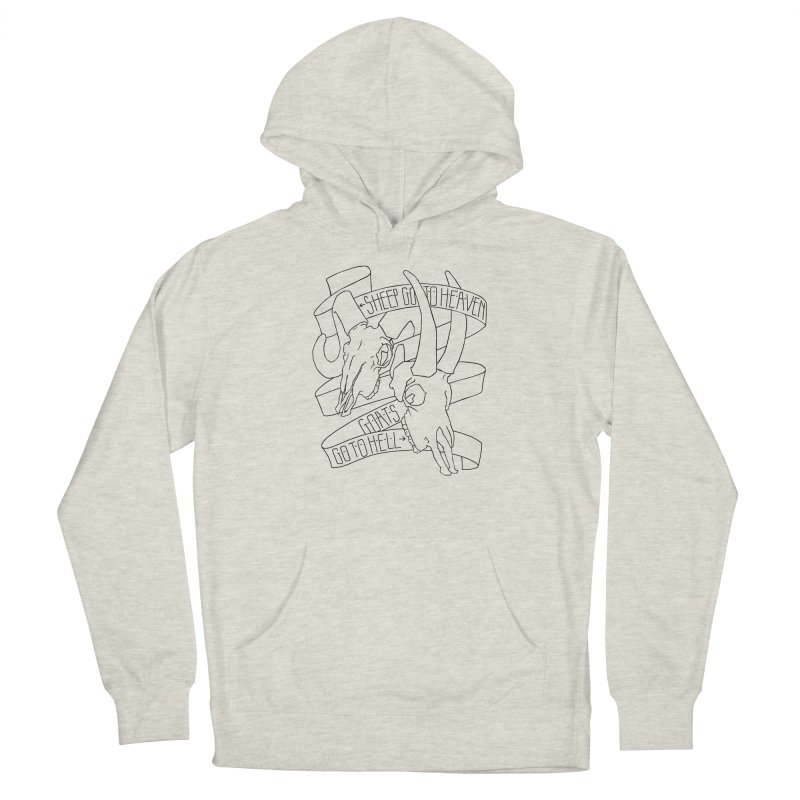 Sheep Go To Heaven Men's Pullover Hoody by Marie Angoulvant's Shop