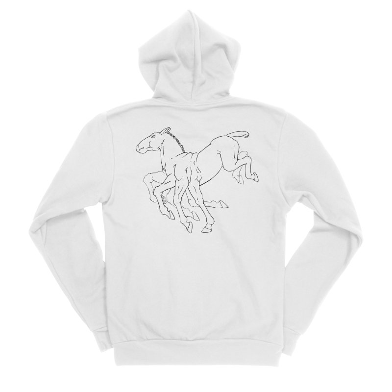Sleipnir Men's Sponge Fleece Zip-Up Hoody by Marie Angoulvant's Shop