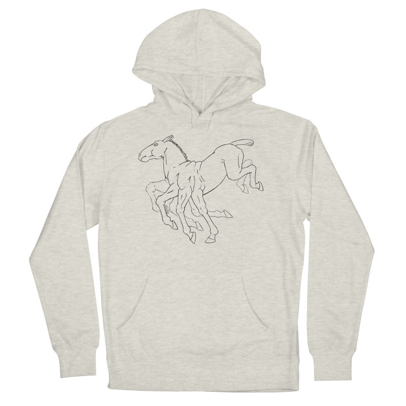 Sleipnir Men's French Terry Pullover Hoody by Marie Angoulvant's Shop