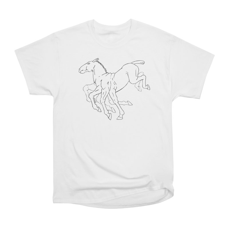 Sleipnir Women's Heavyweight Unisex T-Shirt by Marie Angoulvant's Shop