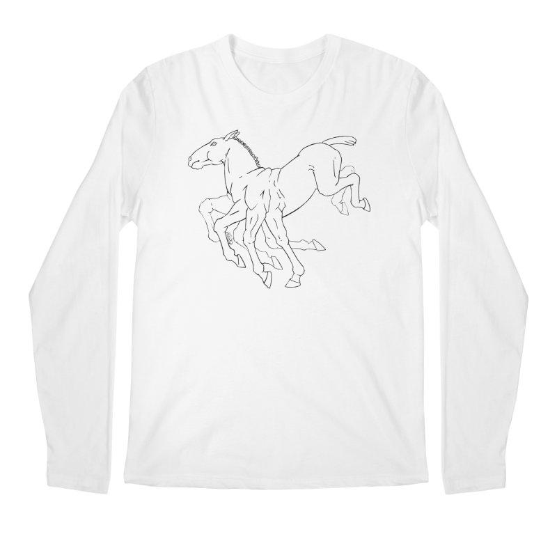 Sleipnir Men's Regular Longsleeve T-Shirt by Marie Angoulvant's Shop
