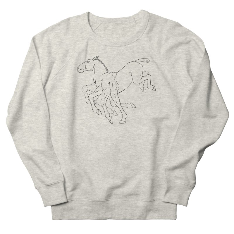 Sleipnir Men's French Terry Sweatshirt by Marie Angoulvant's Shop