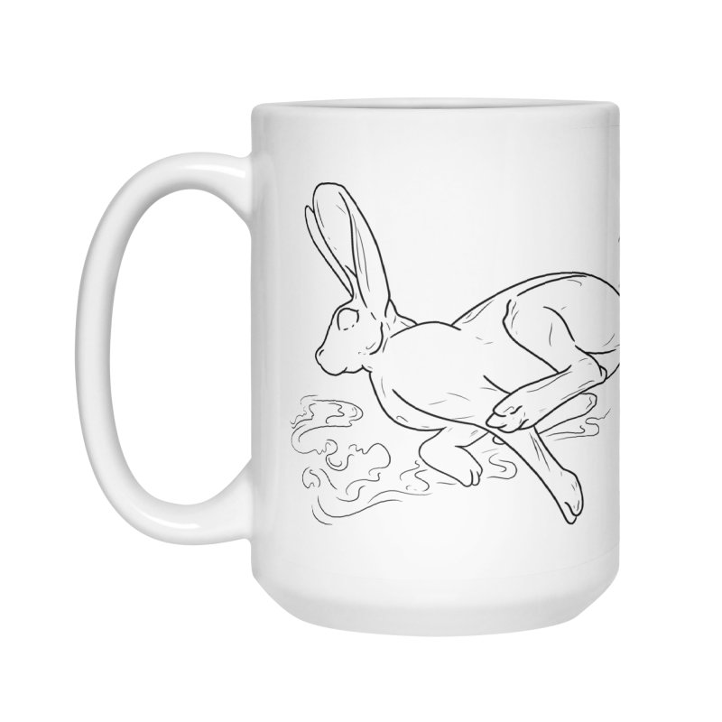 Run Rabbit Run Accessories Mug by Marie Angoulvant's Shop
