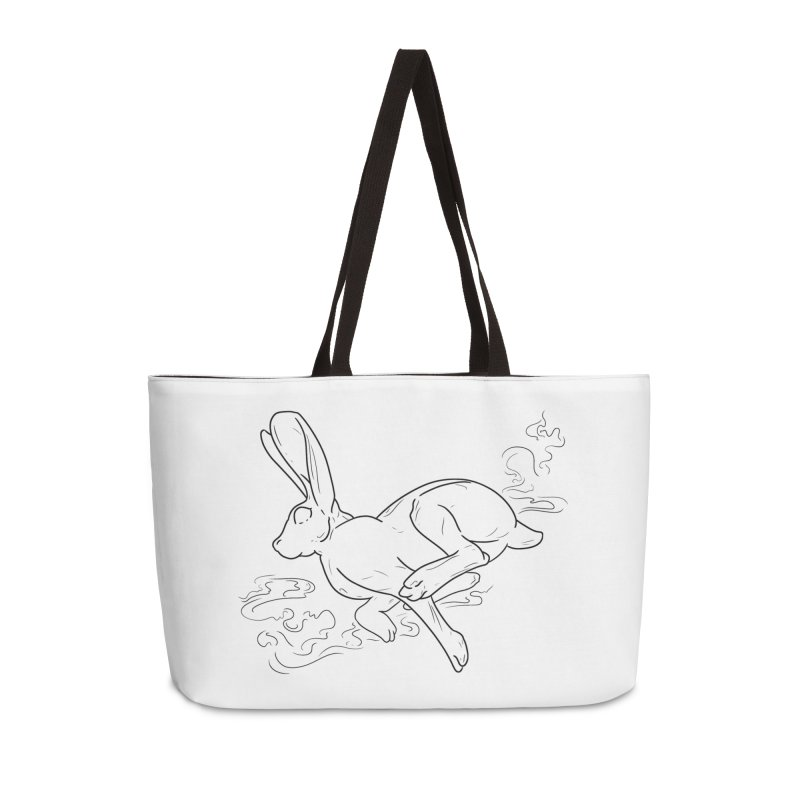 Run Rabbit Run Accessories Weekender Bag Bag by Marie Angoulvant's Shop