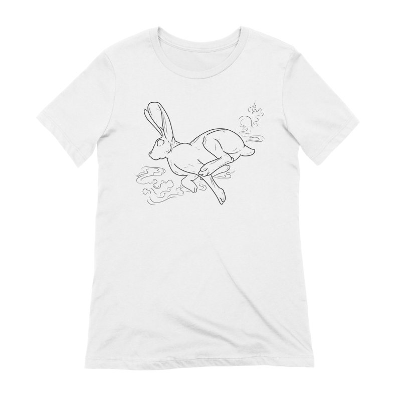 Run Rabbit Run Women's T-Shirt by Marie Angoulvant's Shop