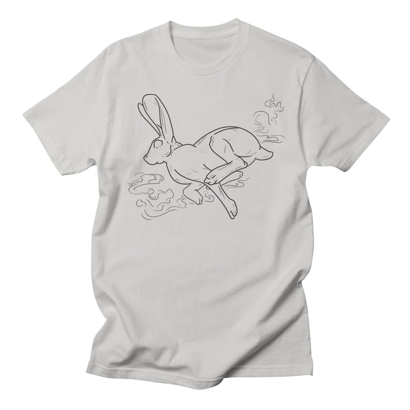 Run Rabbit Run Men's T-Shirt by Marie Angoulvant's Shop