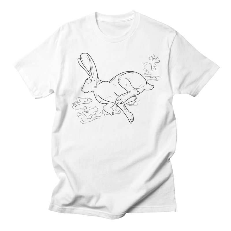 Run Rabbit Run Men's T-Shirt by Marie Angoulvant's Shop