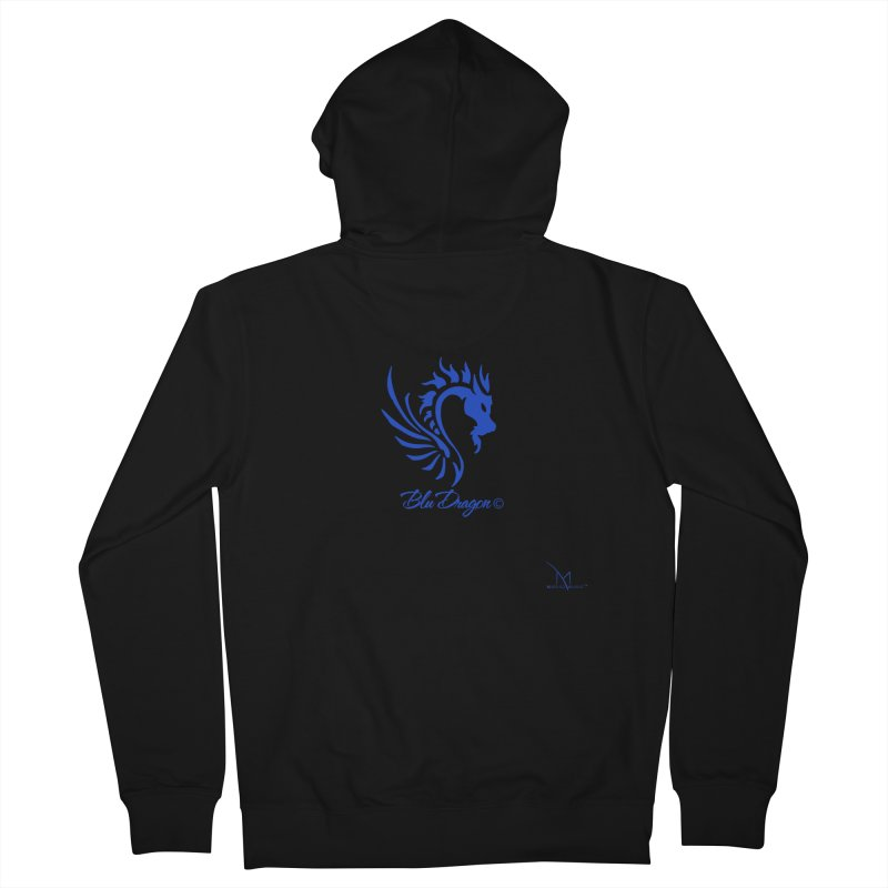 BLU DRAGON (COLLECTION) By MarigzMusic™ Women's Zip-Up Hoody by