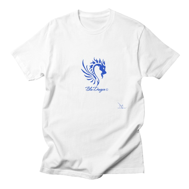 BLU DRAGON (COLLECTION) By MarigzMusic™ Men's T-Shirt by