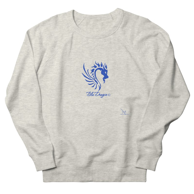 BLU DRAGON (COLLECTION) By MarigzMusic™ Women's Sweatshirt by