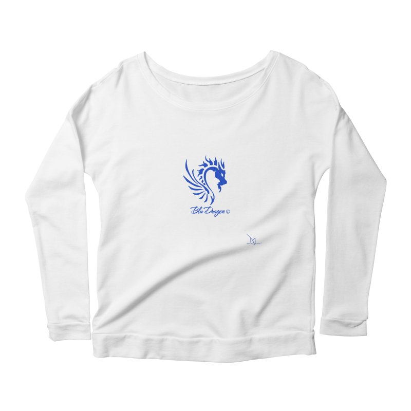 BLU DRAGON (COLLECTION) By MarigzMusic™ Women's Longsleeve T-Shirt by