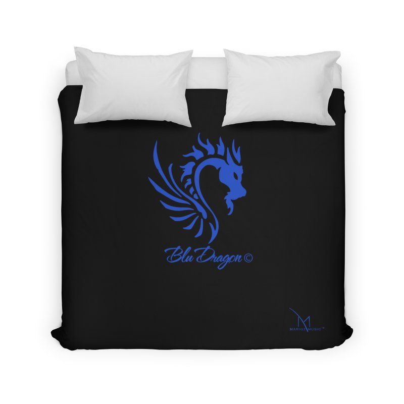 BLU DRAGON (COLLECTION) By MarigzMusic™ Home Duvet by