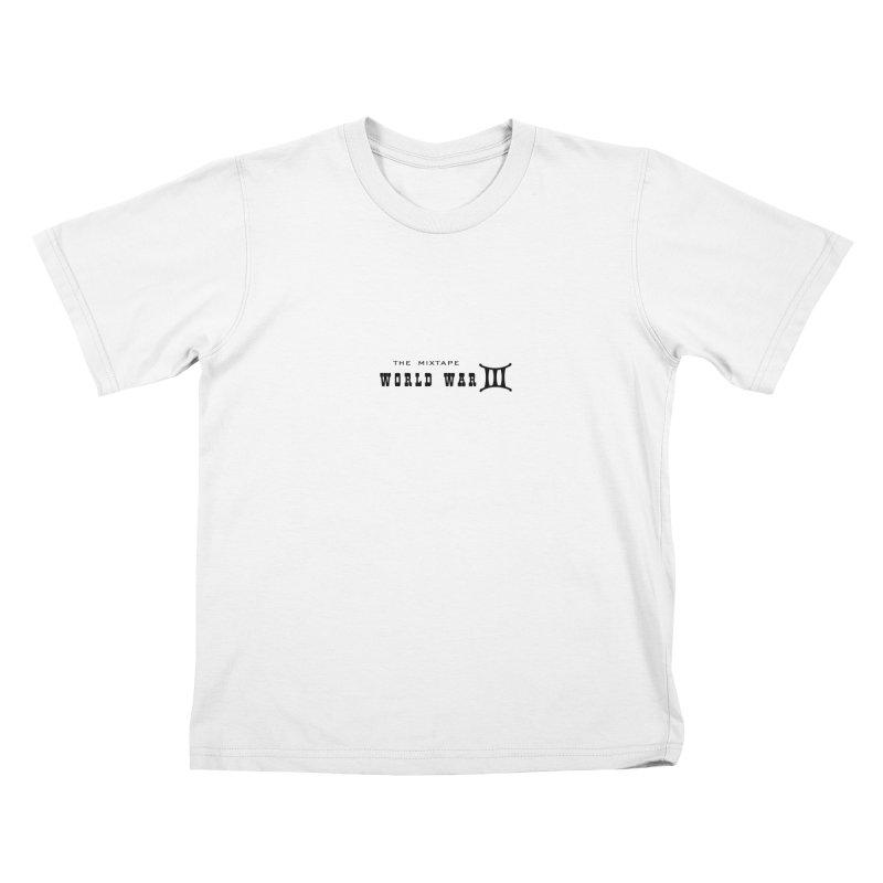 WW3 (BLACK) Kids T-Shirt by