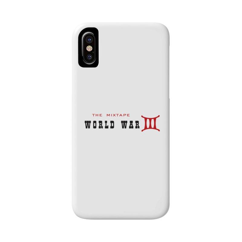 WW3 Original in iPhone X / XS Phone Case Slim by