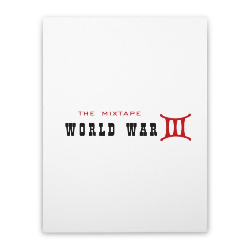 WW3 Original Home Stretched Canvas by