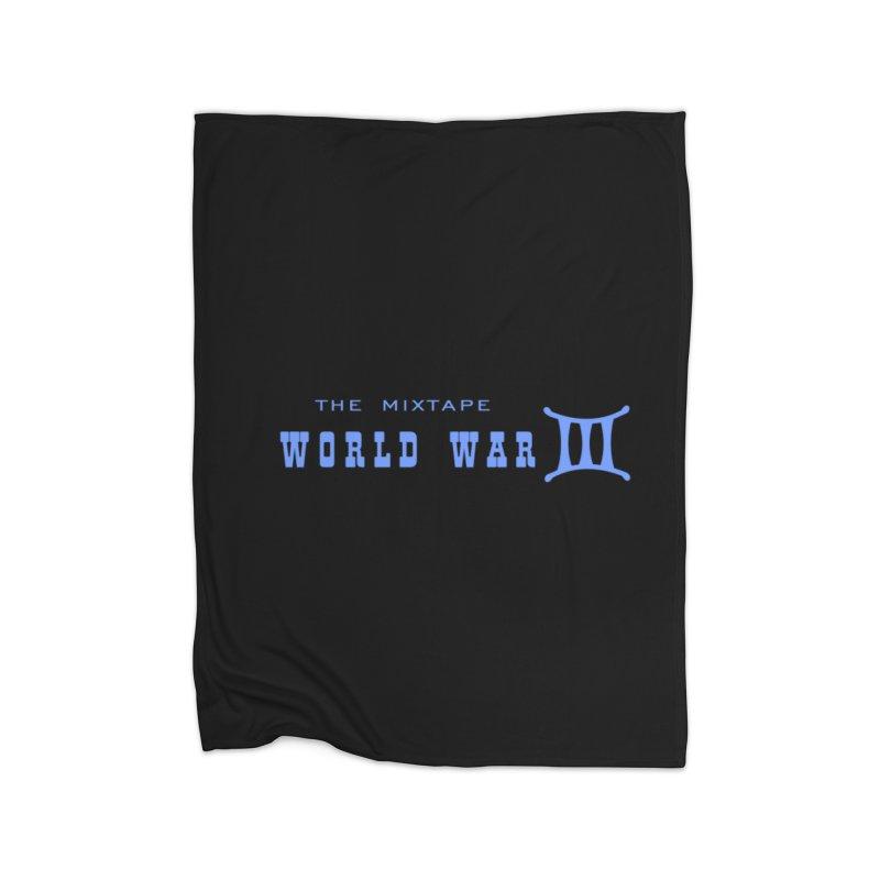 World War 3 (Blue Logo) Home Blanket by