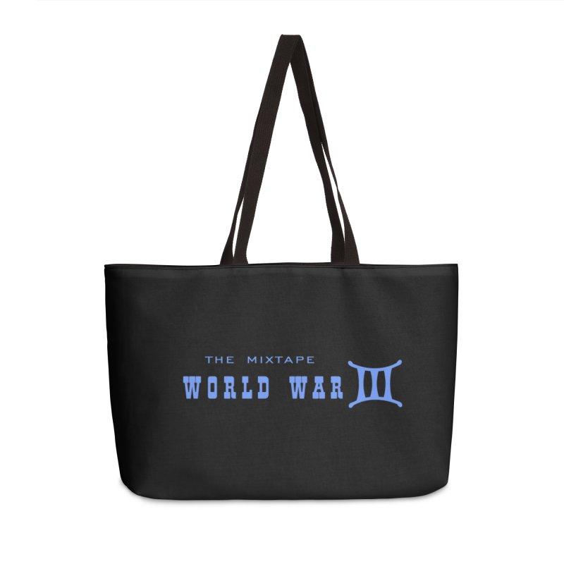 World War 3 (Blue Logo) Accessories Bag by