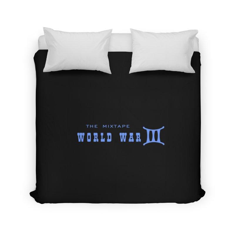 World War 3 (Blue Logo) Home Duvet by