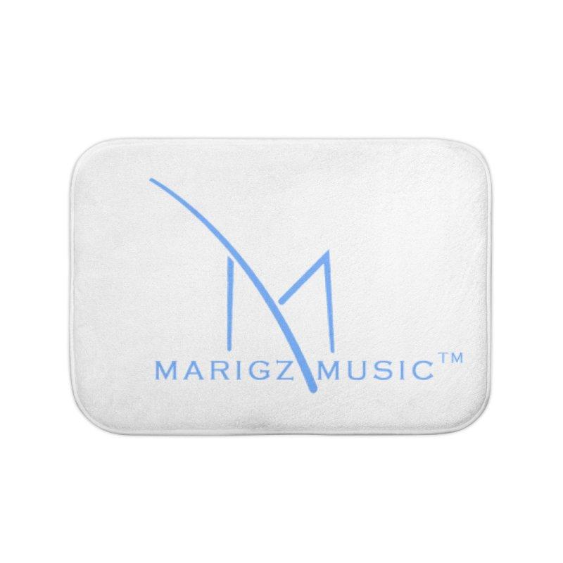 Marigz Music™ (Apparel) Blue Home Bath Mat by