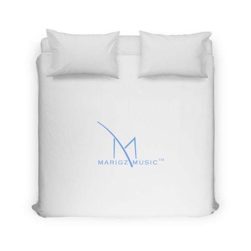 Marigz Music™ (Apparel) Blue Home Duvet by