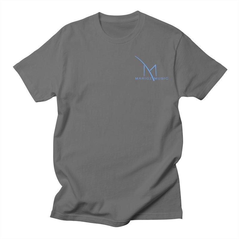 Marigz Music™ (Apparel) Blue Men's T-Shirt by