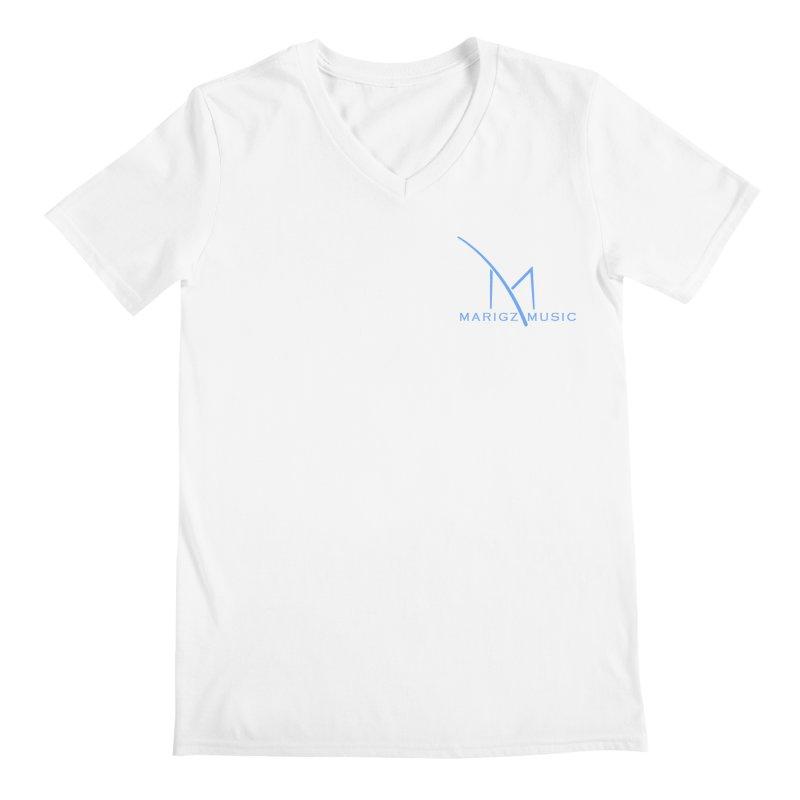 Marigz Music™ (Apparel) Blue Men's V-Neck by