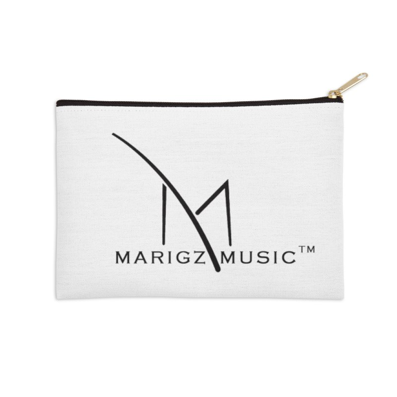 Marigz Music™ (Apparel) Black in Zip Pouch by