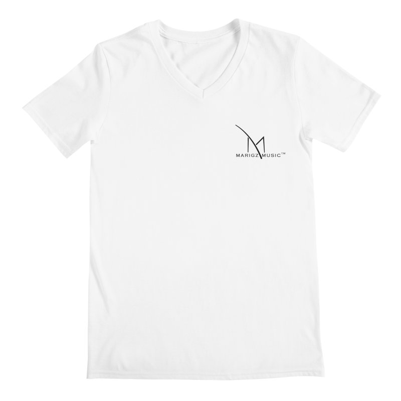 Marigz Music™ (Apparel) Black Men's V-Neck by