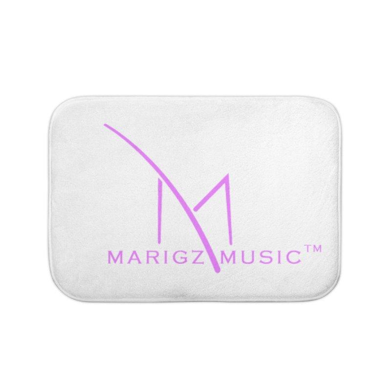 Marigz Music™ (Apparel) Pink Home Bath Mat by