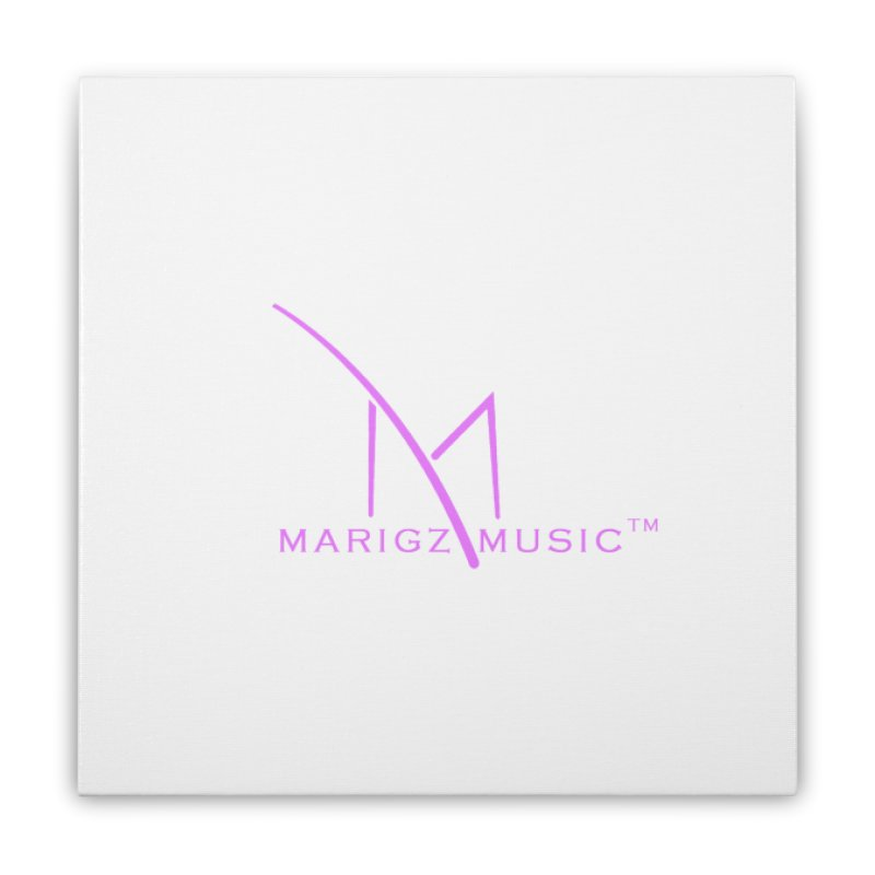 Marigz Music™ (Apparel) Pink Home Stretched Canvas by