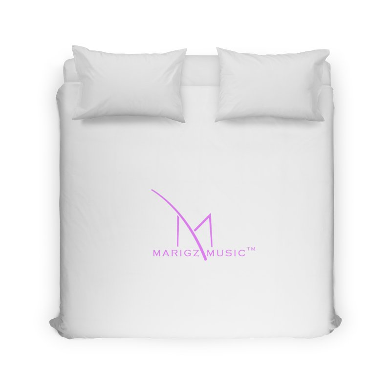 Marigz Music™ (Apparel) Pink Home Duvet by
