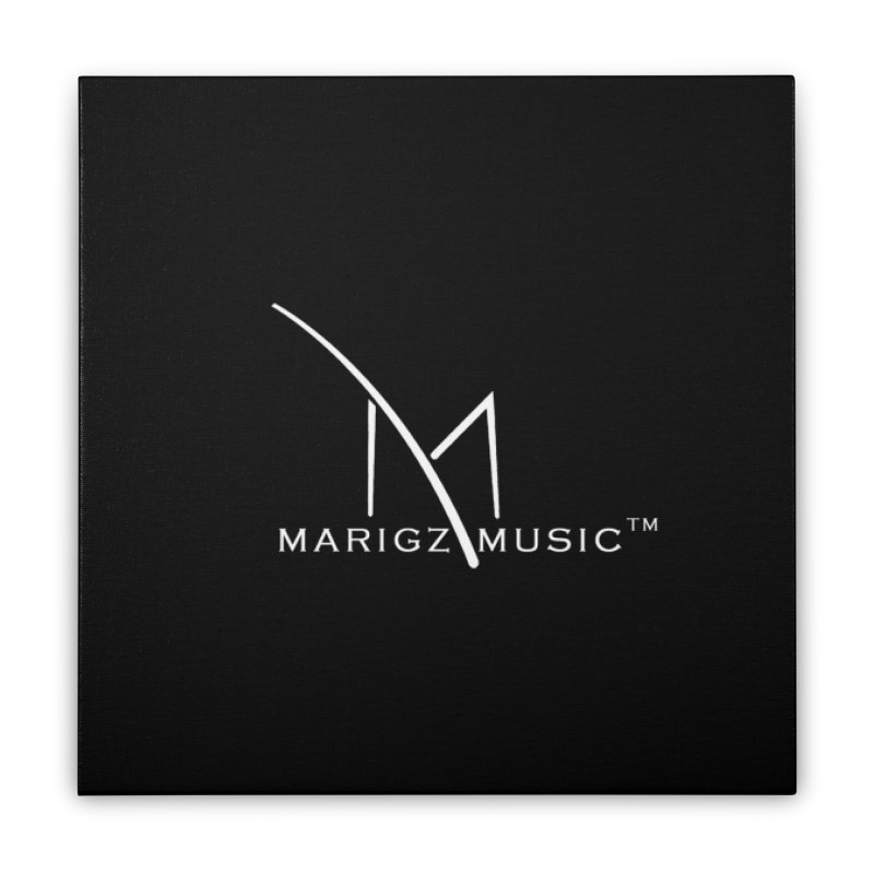 MarigzMusic™  Apparel (Cocaine White Edition ) Home Stretched Canvas by