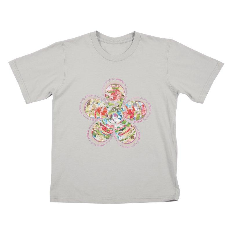 Amelia Tee Kids T-shirt by marilcha's Artist Shop