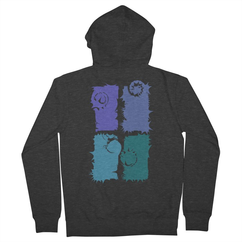 getting pulled into the whirlpool Women's Zip-Up Hoody by marilcha's Artist Shop