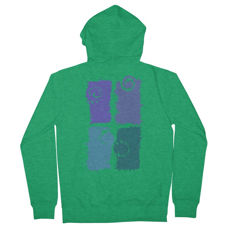 getting pulled into the whirlpool Men's Zip-Up Hoody by marilcha's Artist Shop