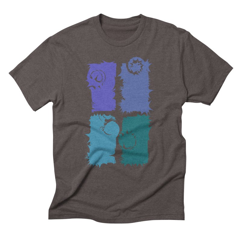 getting pulled into the whirlpool Men's Triblend T-shirt by marilcha's Artist Shop