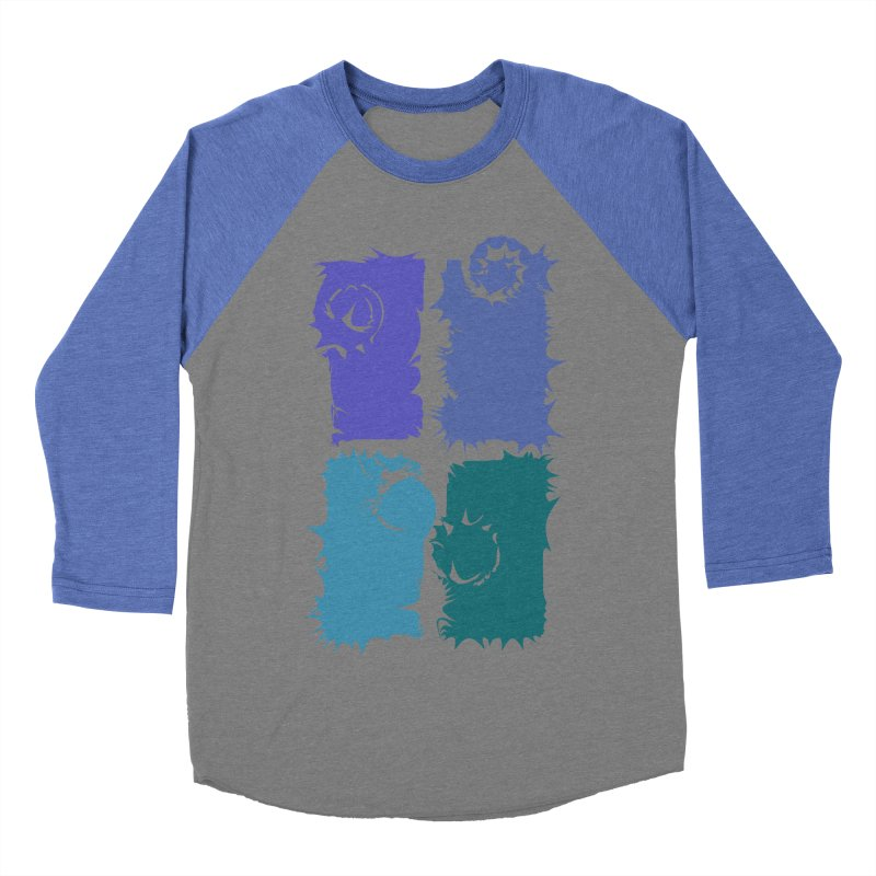 getting pulled into the whirlpool Men's Baseball Triblend T-Shirt by marilcha's Artist Shop