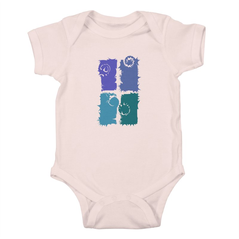 getting pulled into the whirlpool Kids Baby Bodysuit by marilcha's Artist Shop