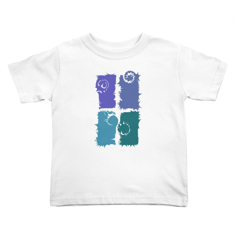 getting pulled into the whirlpool Kids Toddler T-Shirt by marilcha's Artist Shop