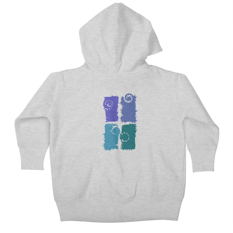 getting pulled into the whirlpool Kids Baby Zip-Up Hoody by marilcha's Artist Shop