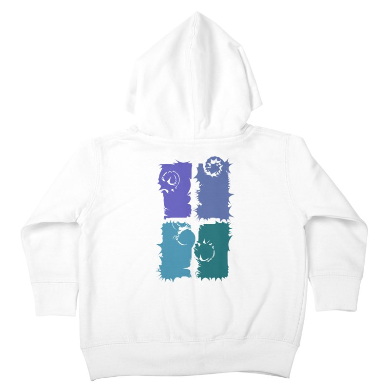 getting pulled into the whirlpool Kids Toddler Zip-Up Hoody by marilcha's Artist Shop