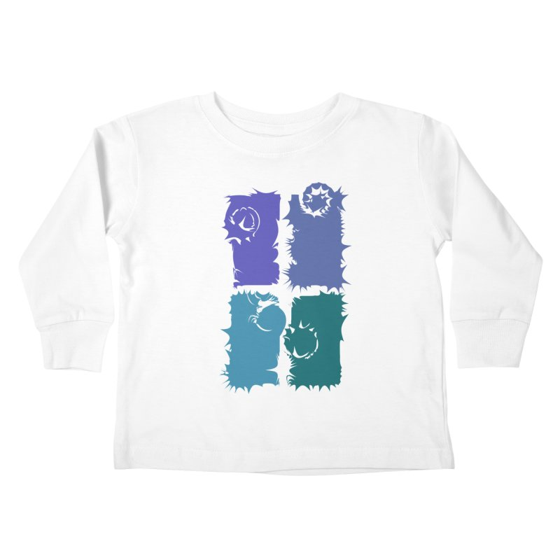 getting pulled into the whirlpool Kids Toddler Longsleeve T-Shirt by marilcha's Artist Shop