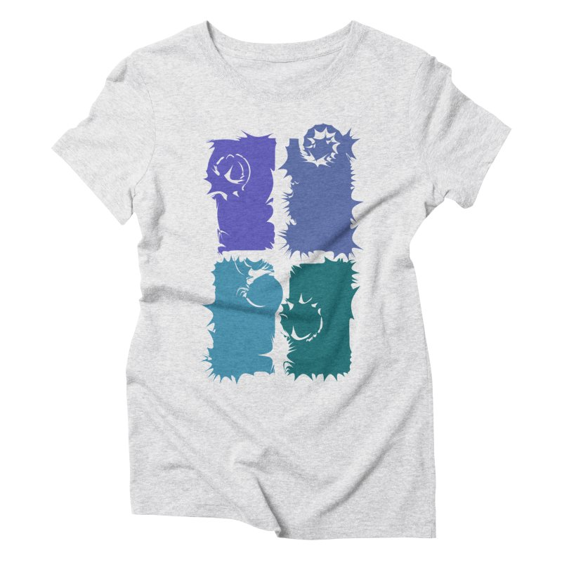 getting pulled into the whirlpool Women's Triblend T-Shirt by marilcha's Artist Shop