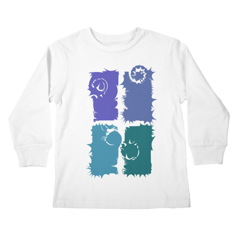 getting pulled into the whirlpool Kids Longsleeve T-Shirt by marilcha's Artist Shop