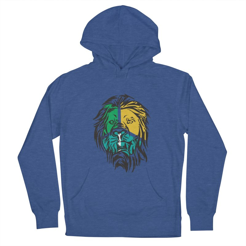 LionFace Women's Pullover Hoody by marilcha's Artist Shop