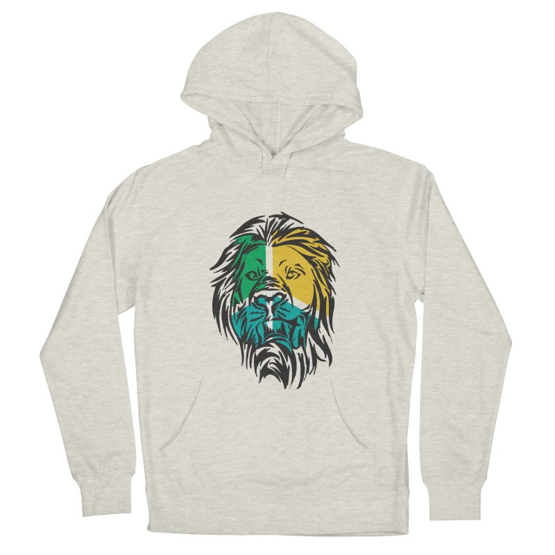LionFace Men's Pullover Hoody by marilcha's Artist Shop