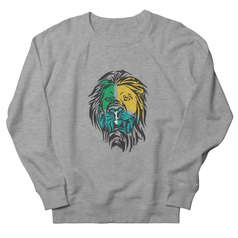 LionFace Women's Sweatshirt by marilcha's Artist Shop